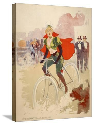 Bike Ride-Marcus Jules-Stretched Canvas Print