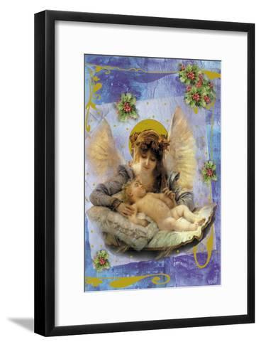 Cach01-Maria Trad-Framed Art Print