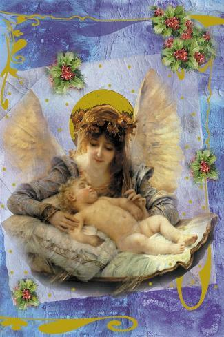 Cach01-Maria Trad-Stretched Canvas Print