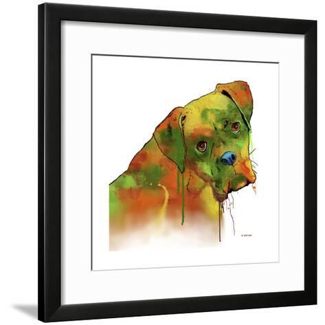 Boxer 2-Marlene Watson-Framed Art Print
