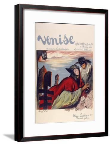 Venise-Marcus Jules-Framed Art Print