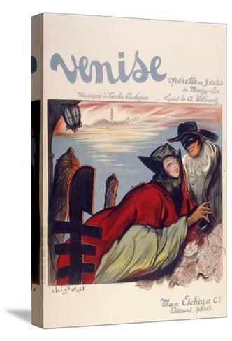 Venise-Marcus Jules-Stretched Canvas Print