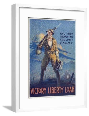 Victory Liberty Loan-Marcus Jules-Framed Art Print