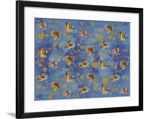 Angels and Hearts-Maria Trad-Framed Art Print