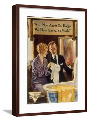 And Now Aren't You Happy-Marcus Jules-Framed Art Print