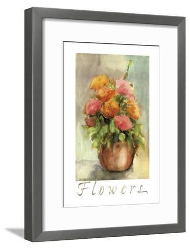Vaso Isc-Maria Trad-Framed Art Print