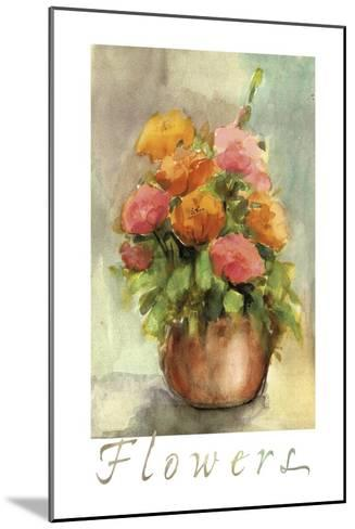 Vaso Isc-Maria Trad-Mounted Giclee Print