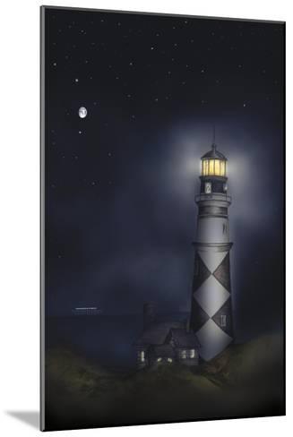 Lighthouse 01B-Maria Trad-Mounted Giclee Print