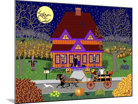 Pumpkin House-Mark Frost-Mounted Giclee Print