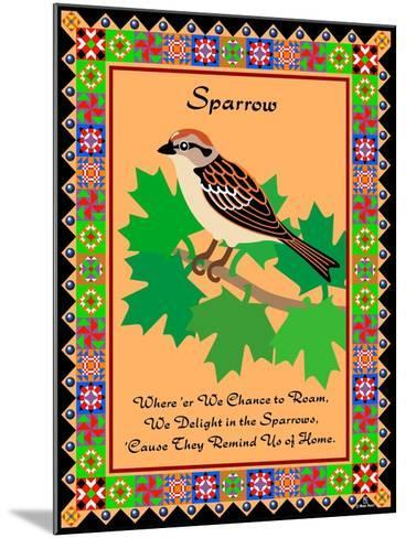 Sparrow Quilt-Mark Frost-Mounted Giclee Print