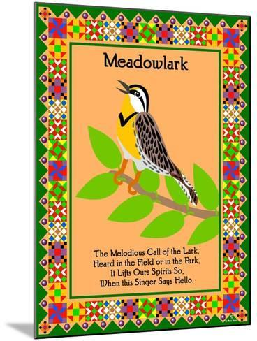 Meadowlark Quilt-Mark Frost-Mounted Giclee Print
