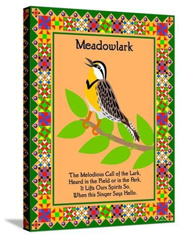Meadowlark Quilt-Mark Frost-Stretched Canvas Print