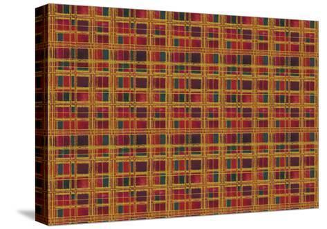 Plaid Design-Maria Trad-Stretched Canvas Print