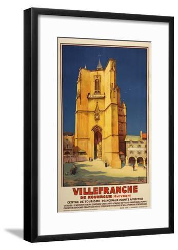 Ville Franche-Marcus Jules-Framed Art Print