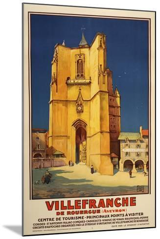 Ville Franche-Marcus Jules-Mounted Giclee Print