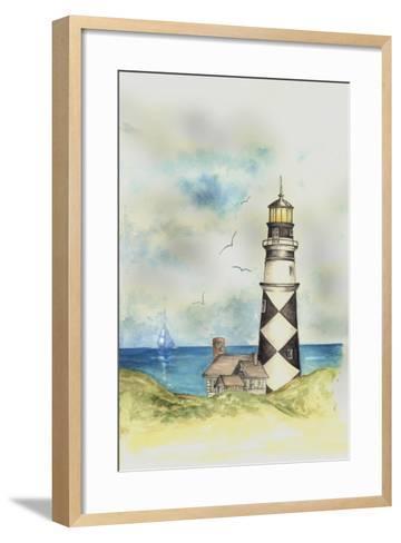 Lighthouse 01A-Maria Trad-Framed Art Print