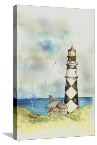 Lighthouse 01A-Maria Trad-Stretched Canvas Print