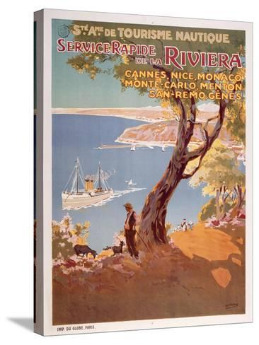 Riviera-Marcus Jules-Stretched Canvas Print