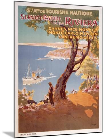Riviera-Marcus Jules-Mounted Giclee Print