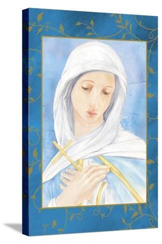 Our Lady of Sorrow-Maria Trad-Stretched Canvas Print
