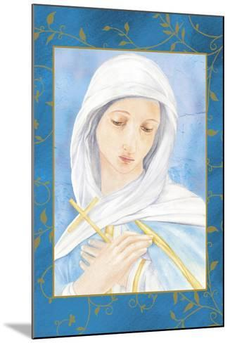 Our Lady of Sorrow-Maria Trad-Mounted Giclee Print