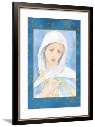 Our Lady of Sorrow-Maria Trad-Framed Art Print