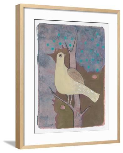 A Yellow Dove-Maria Pietri Lalor-Framed Art Print