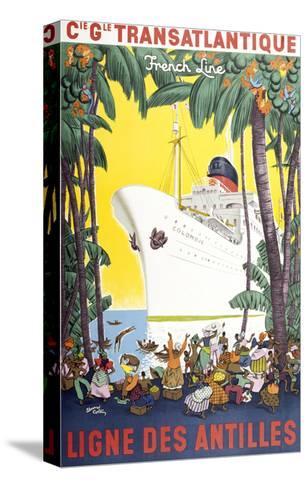Ligne Des Antilles-Marcus Jules-Stretched Canvas Print