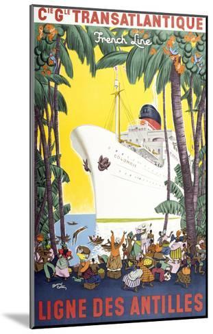 Ligne Des Antilles-Marcus Jules-Mounted Giclee Print