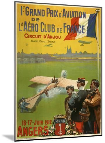 Grand Prix d Aviation de l Aero Club de France-Marcus Jules-Mounted Giclee Print