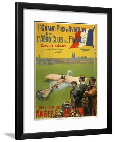 Grand Prix d Aviation de l Aero Club de France-Marcus Jules-Framed Art Print