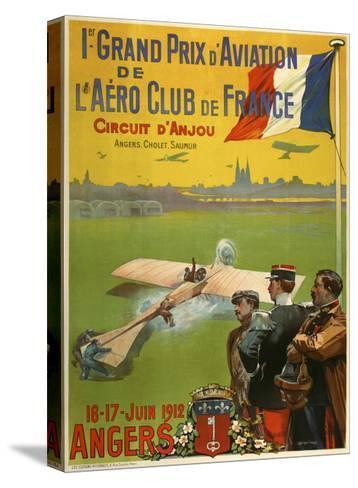 Grand Prix d Aviation de l Aero Club de France-Marcus Jules-Stretched Canvas Print