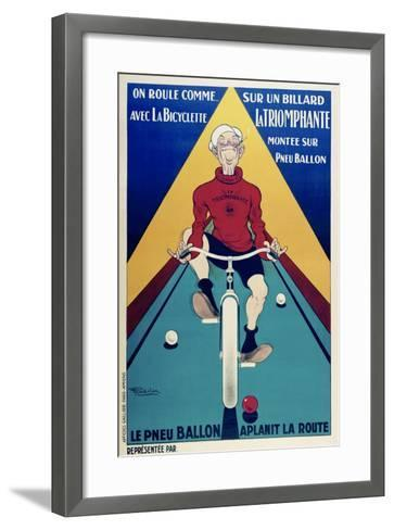 On Roule Comme-Marcus Jules-Framed Art Print