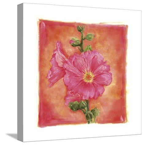 Hibisco 07-Maria Trad-Stretched Canvas Print