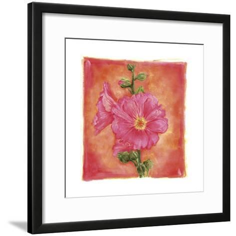 Hibisco 07-Maria Trad-Framed Art Print