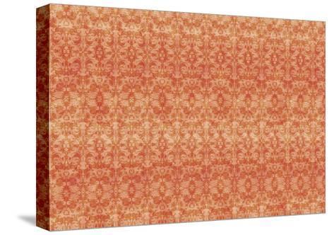 Orange Pattern-Maria Trad-Stretched Canvas Print