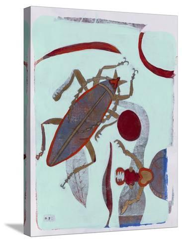 Leaf Cutter 12-Maria Pietri Lalor-Stretched Canvas Print
