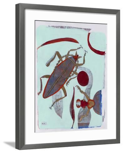 Leaf Cutter 12-Maria Pietri Lalor-Framed Art Print
