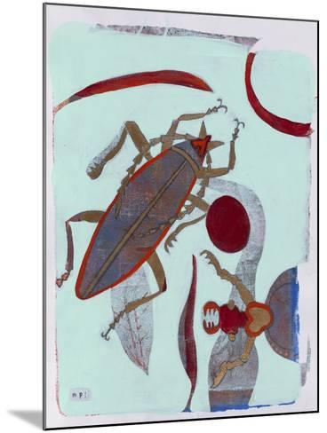 Leaf Cutter 12-Maria Pietri Lalor-Mounted Giclee Print