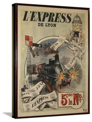 L Express-Marcus Jules-Stretched Canvas Print
