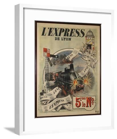 L Express-Marcus Jules-Framed Art Print
