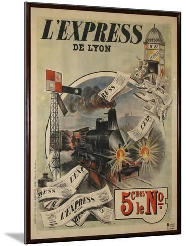 L Express-Marcus Jules-Mounted Giclee Print
