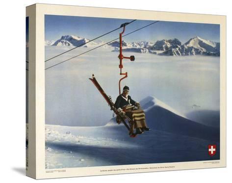 La Suisse, Paradis des Sports d Hiver-Marcus Jules-Stretched Canvas Print