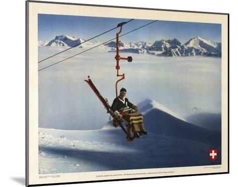 La Suisse, Paradis des Sports d Hiver-Marcus Jules-Mounted Giclee Print