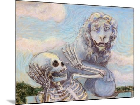 Ahh! Scary!-Marie Marfia-Mounted Giclee Print