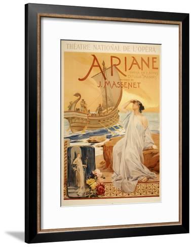 Theatre National de L Opera-Marcus Jules-Framed Art Print