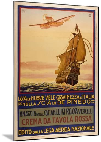 Crema Da Tavolla Rossa-Marcus Jules-Mounted Giclee Print