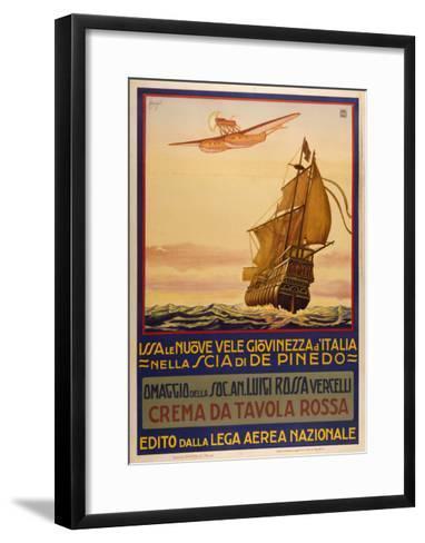 Crema Da Tavolla Rossa-Marcus Jules-Framed Art Print