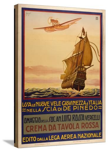Crema Da Tavolla Rossa-Marcus Jules-Stretched Canvas Print