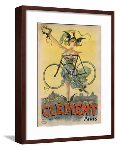 Cycles Clement Paris-Marcus Jules-Framed Art Print